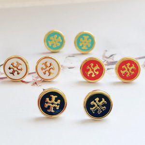 Tory Burch Enamel Enamel Candy Earrings